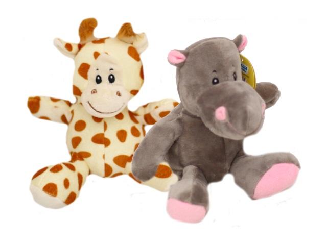 Мягкая игрушка Африканские животные 15см ассорти Fluffy Family 681407