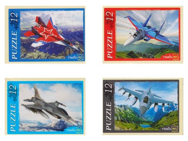 Пазлы   12 деталей Самолеты в воздухе П12-6836