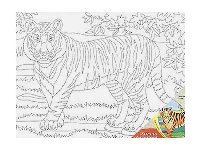 Холст 30*40см Тигр Рыжий кот Х-9702