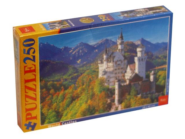 Пазлы  250 деталей Hatber Осенний замок 250ПЗ3_10982