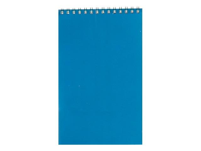 Блокнот А5 Profit спираль сверху м/обложка  40л Голубой Б40-4306