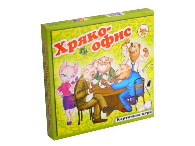 Настольная игра Хряко-офис 108 карточек ИК 9091