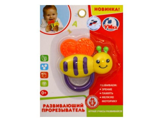 Прорезыватель Пчелка Умка 1607M266-Y