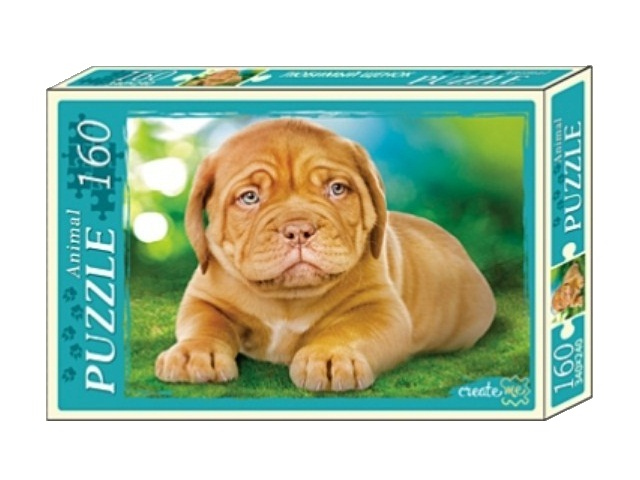 Пазлы  160 деталей Любимый щенок П160-1089