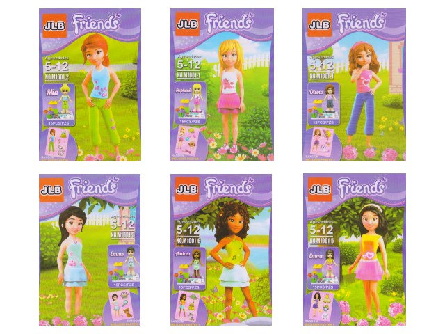 Конструктор  15 деталей Friends 1001