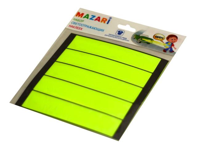 Светоотражатели  5 шт. Mazari Полоски M-7203