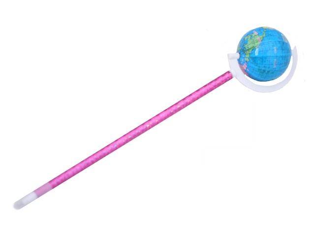 Ручка шариковая Mazari Globen синяя 0.7мм M-7417-70\12