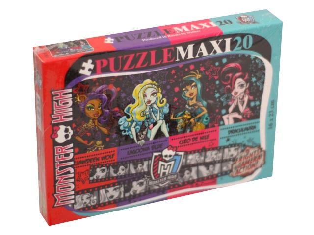 Пазлы Maxi 20 деталей Школа монстров Hatber 20П35_12999