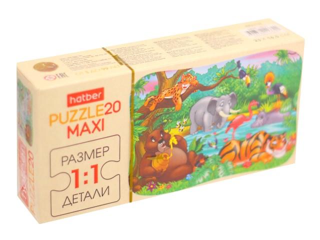 Пазлы Maxi 20 деталей Джунгли Hatber 20П35_10711