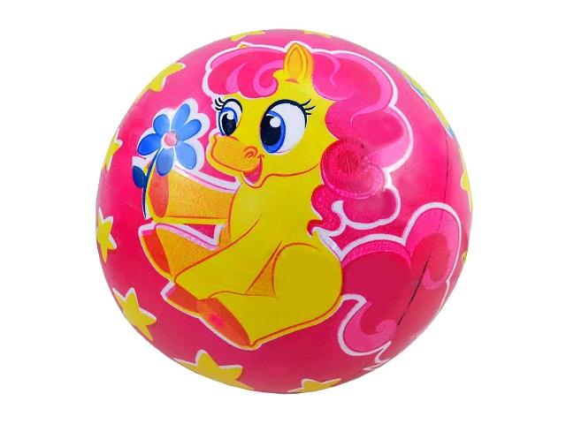 Мяч 22 см Розовая лошадка 635712