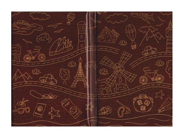 Обложка для паспорта Жажда приключений Miland ОП-7350