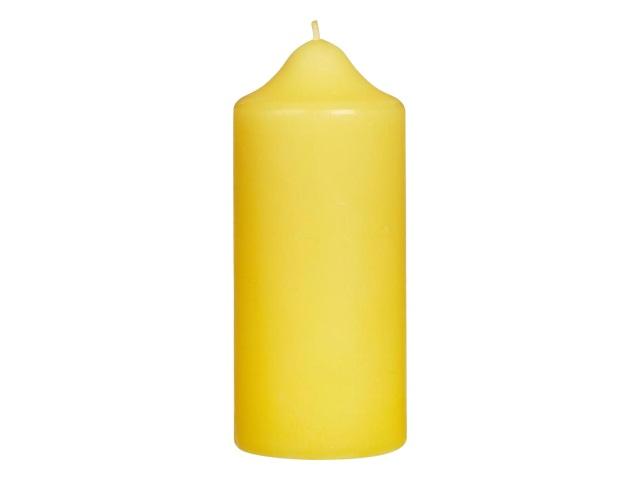Свеча пеньковая желтая 12*5см Miland С-3599