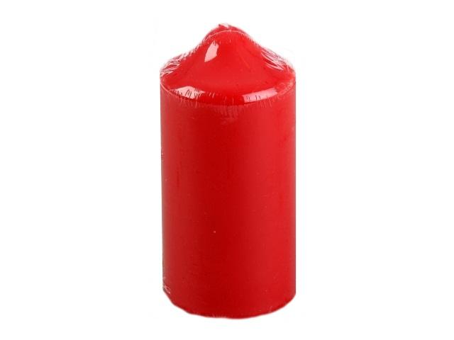 Свеча пеньковая красная 15*7см Miland С-3607