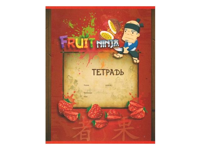 Тетрадь 18л линия Fruit nija Action! FN-AN 1803-1