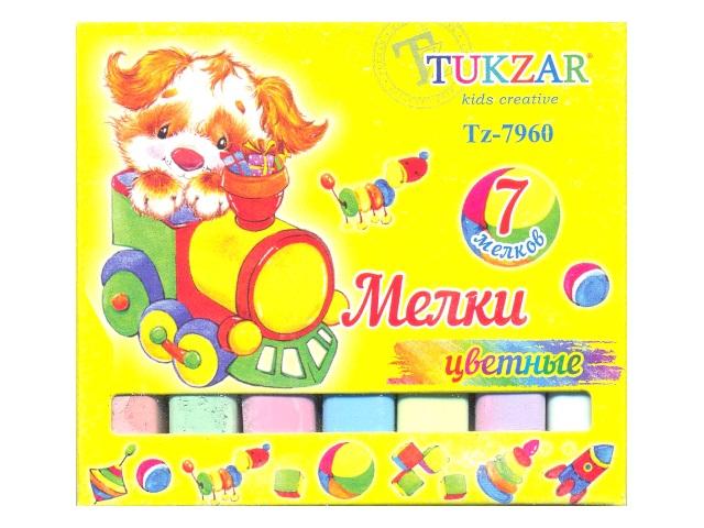 Мел  7 цветов квадратный Tukzar Tz-7960