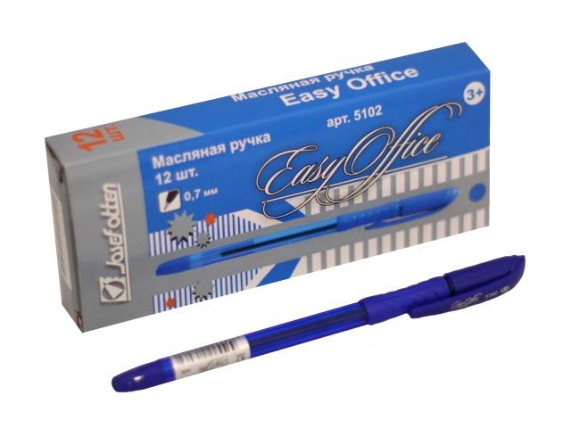 Ручка масляная J.Otten Easy Office синяя 0.7мм 5102