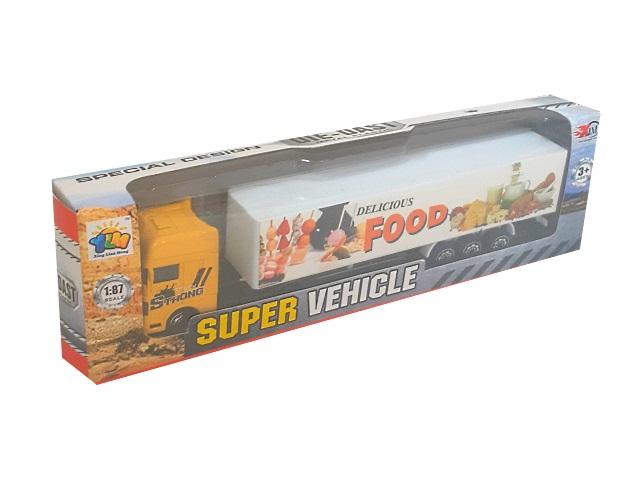 Грузовик инерционный 20 см Super Vehicle 87010