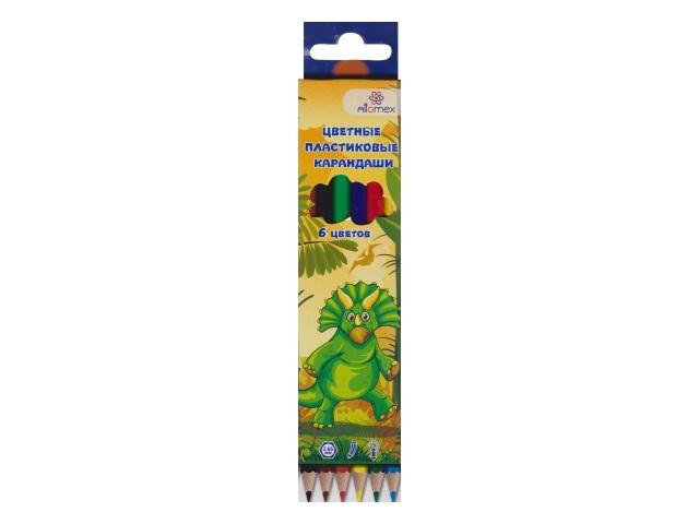 Карандаши цветные  6цв Attomex Сказка шестигранные 5021610