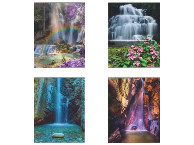 Тетрадь 96л клетка Волшебные водопады Академия Групп ЕАС-9340-5