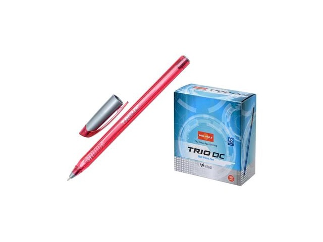 Ручка масляная Unimax Trio DC красная 0.7мм 722467
