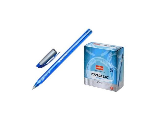 Ручка масляная Unimax Trio DC синяя 0.7мм 722465