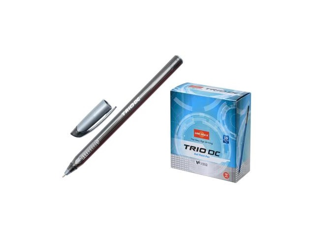 Ручка масляная Unimax Trio DC черная 0.7мм 722466