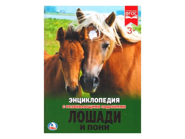 Энциклопедия А4 Лошади и пони Умка 02274