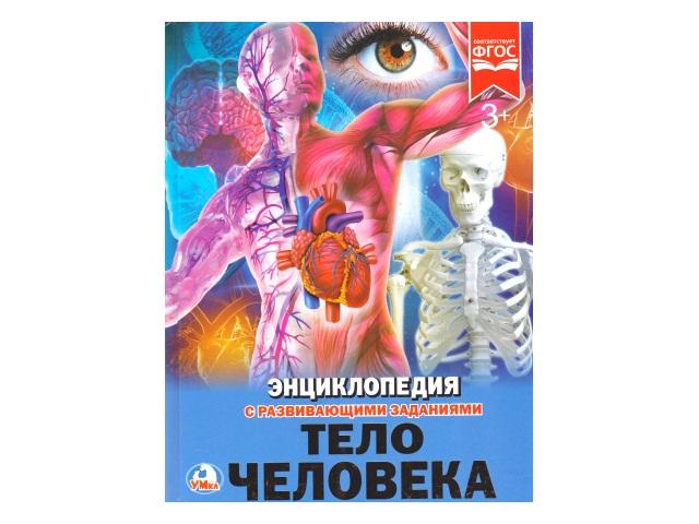 Энциклопедия А4 Тело человека Умка 02168