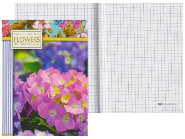 Записная книжка А6 тв/переплёт  80л Цветы 1 Plano С0094-315