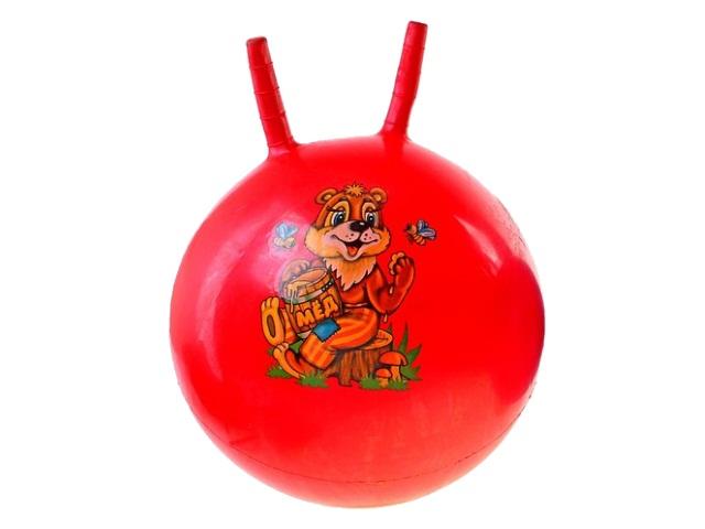 Мяч-прыгун 45 см с рожками Животные 2304-45AML