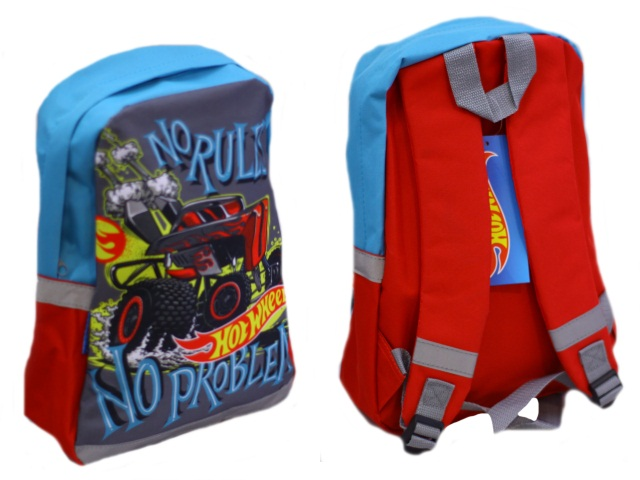 Рюкзак детский  Hot Wheels 35*26*10см Академия Групп HWFP-UT1-566