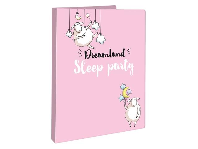 Папка-скоросшиватель А4 цветная Dreamland 2550796