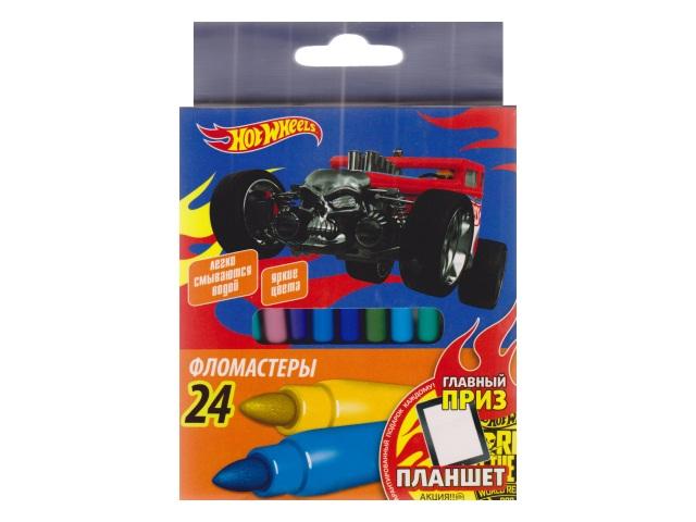 Фломастеры 24цв Hot Wheels Limpopo 1202222