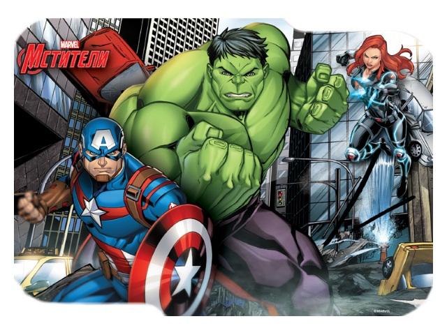 Подкладка для лепки А5 фигурная Marvel Мстители Limpopo 4254662