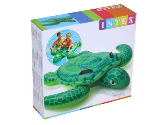 Игрушка надувная 150*127см с держателями Черепаха Intex 57524