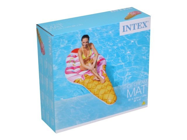 Матрац 224*107см Мороженое Intex 58762