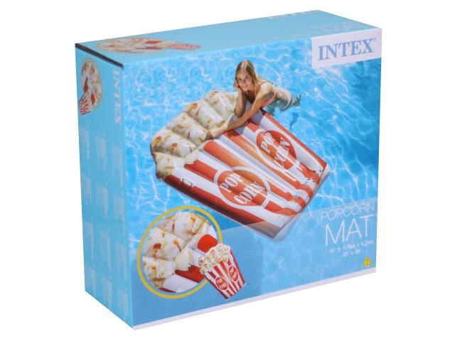 Матрац-плот 178*124см Попкорн Intex 58779