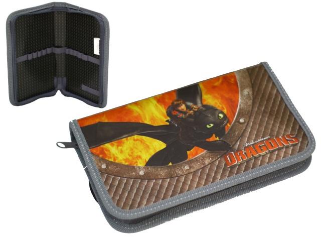 Пенал на молнии 1 отделение Dragons Action! DR-PC01-03