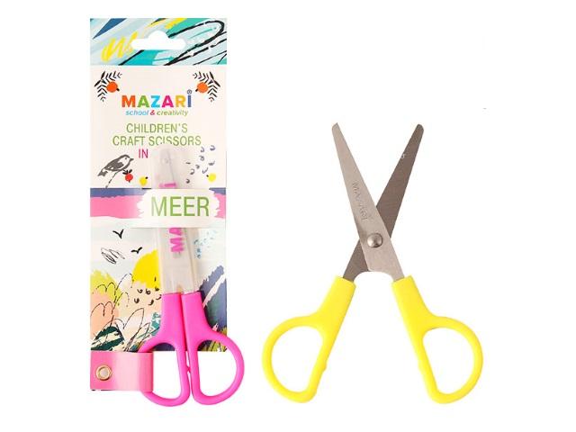 Ножницы детские 12 см Mazari пластиковые ручки M-5619