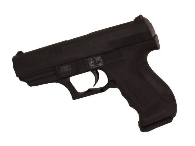 Пистолет на пульках 14см 1B02201