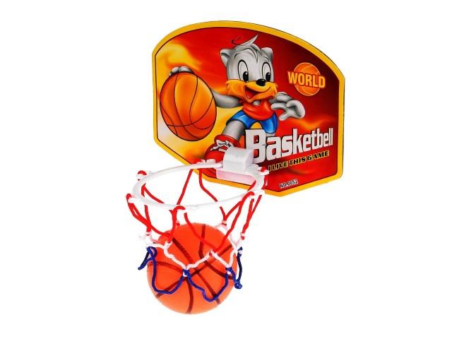 Баскетбольное кольцо + мячик 7см Basketball Board 1504S420