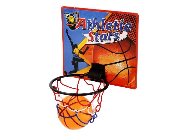Баскетбольное кольцо + мячик 8см B1582242