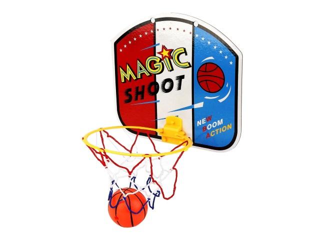 Баскетбольное кольцо + мячик 7см Enthusiast Sports B1480963