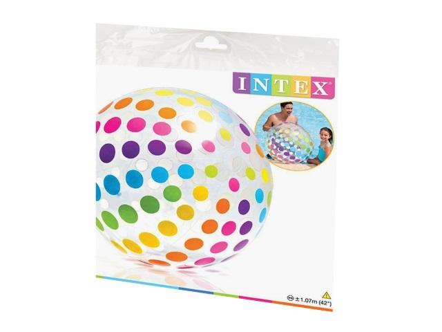 Мяч надувной 107см Джумбо Intex 59065