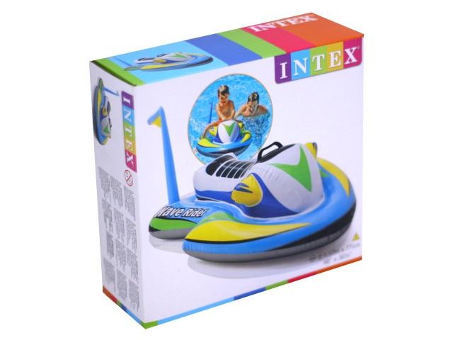 Игрушка надувная Intex 117*77см с держателями Скутер 57520
