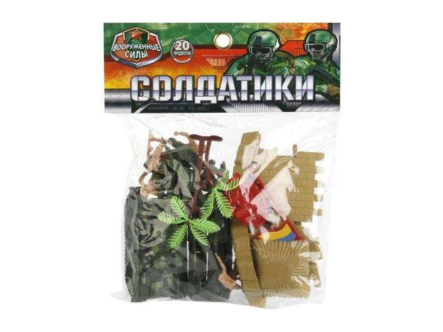 Военный набор 20 предметов Солдатики Играем вместе B1543815-R