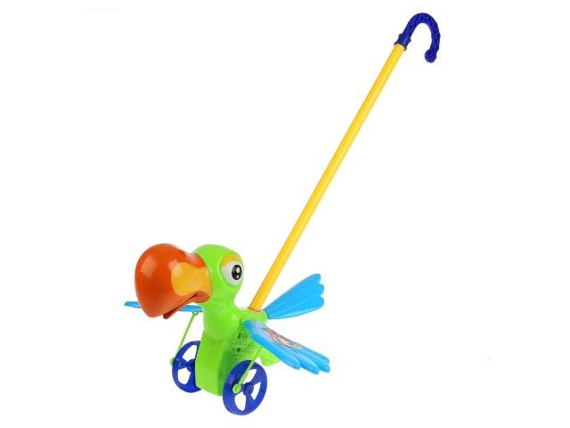 Каталка на палке Попугай B1352587