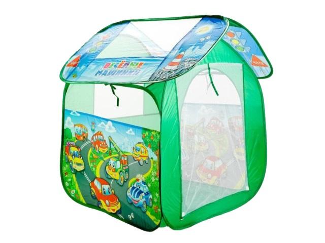 Палатка игровая Веселые машинки 83*105см Играем вместе GFA-AUTO-R