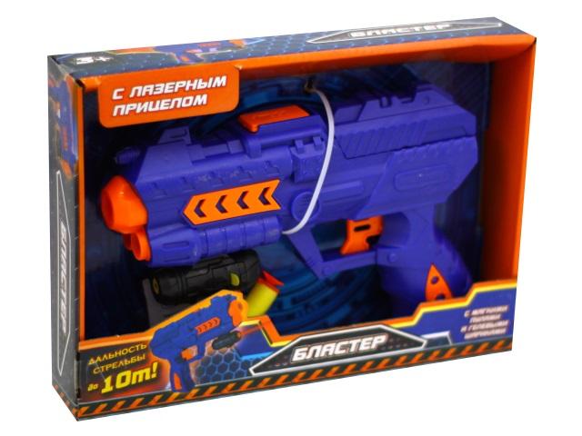 Бластер  2 пули 20см лазерный прицел и гелевые пульки Играем вместе B1391244-R