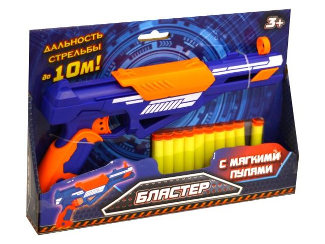 Бластер 10 пуль 30см Играем вместе B1662810-R